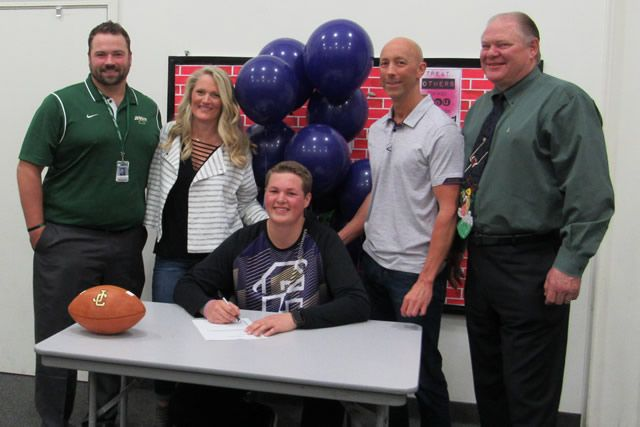 Henry Cadonau signs with Carroll College